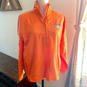 Hooters Half Zip Track Jacket size Small